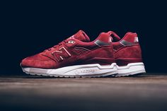 New Balance Drops a Luxurious 998 in Red & White