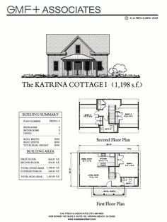 This traditional Katrina Cottage design has 3 bedrooms in 1112