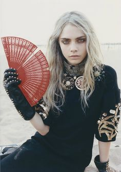 Cara Delevingne in 'Notorious' Photographer: Tung Walsh Dress: Marni F/W 2012/13 Russh #47 August/September 2012