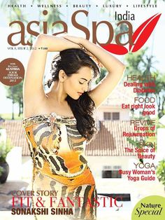 Sonakshi Sinha on The Cover of Aisa Spa Magazine June 2012 | Bollywood Cleavage
