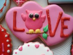 Owl Love (Heart Cookie Cutter)