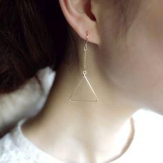 Geometric earings