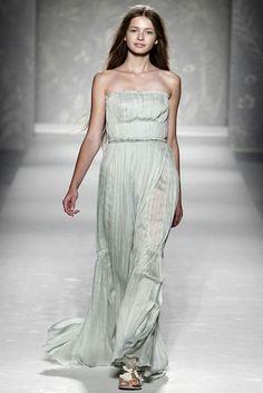 Kristina Romanova for Alberta Ferretti