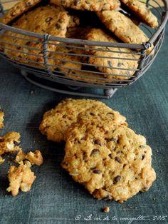 Cookies aux pépites de chocolat et à la bergamote {sans lactose, sans gluten} Sans Lactose, Sans Gluten, Cri, Cookies Et Biscuits, Vegan, Simple, Desserts, Blog, Gourmet