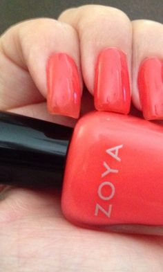 Pretty Toxin-free ZOYA nail polish in the FabFitFun box. Great color for summer!
