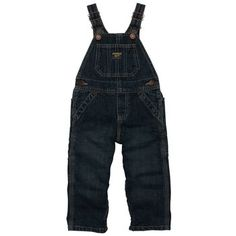 Denim Overalls Brooklyn Wash | Baby Boy World's Best Overalls Size: 6M