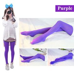 1 Pair New Arrival Stylish Women 120D Sexy Pantyhose Nylon Opaque Footed Tights Stockings Step Foot Seamless Pantyhose