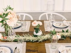 pretty spring table