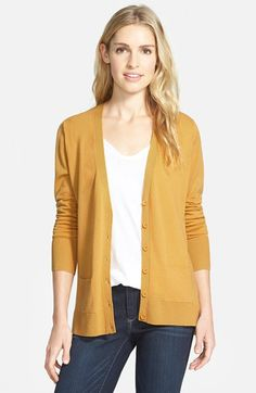 Free shipping and returns on Halogen® Lightweight V-Neck Cardigan (Regular & Petite) at Nordstrom.com. An essential boyfriend cardigan in a wonderfully soft yet lightweight knit of pure merino wool comes in a wide range of colors. Some are patterned with raised seam detailing, some have delicate pointelle-knit stripes and others have playful dot embroidery.