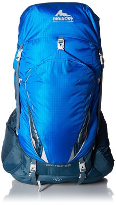 Gregory Mountain Products Contour 50 Backpack, Reflex Blue, Medium
