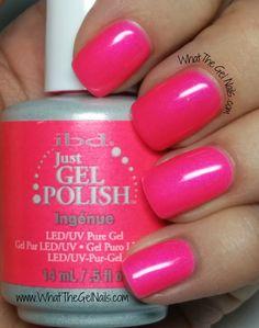 IBD Ingenue, IBD Just Gel Nail Polish Color