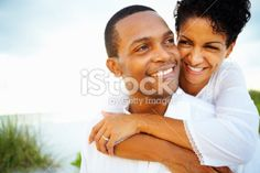 Attractive couple spending quality time together Royalty Free Stock Photo