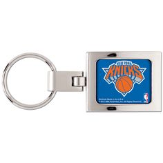 Officially licensed polished Metal key ring. Decorated with a tasteful graphic and finished with an urethane dome. This classy key ring makes a proud gift item. Shop now for your favorite NBA Team acc