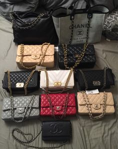 14b8013ef2d1 One Big Happy Family: Check Out Our PurseForum Members' Epic Chanel Family  Bag Portraits