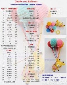 Best 8 globos amigurumi by krololó – – SkillOfKing. Baby Knitting Patterns, Crochet Bear Patterns, Crochet Bunny Pattern, Crochet Birds, Cute Crochet, Amigurumi Patterns, Crochet Crafts, Crochet Dolls, Doll Patterns