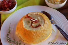 supa-crema-de-usturoi-copt Healthy Eating, Pudding, Vegetarian, Cooking, Breakfast, Ethnic Recipes, Desserts, Blazers, Rezepte