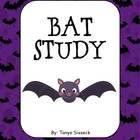 This is a mini science unit focused on bats.  The unit includes a Bat KWL Chart, a Label the Bat page, What Do Bats Eat? page, Draw a Bat Habitat s...