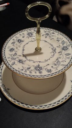 Royal Doulton Josephine Tidbit Server by 3LittleWitches on Etsy