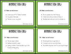 Inferences Bundle for 4th-5th Grades | Inferences | Inference ...