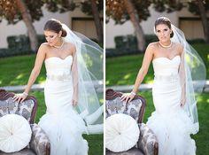 Ross & Mychela - the bride