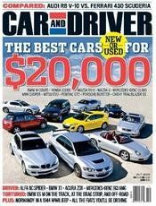 MAGAZINE $$ One Year Subscription to Car and Driver Magazine Only $4.50 – TODAY Only (12/16)!
