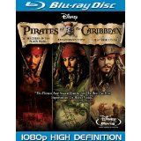 Pirates of the Caribbean Trilogy [Blu-ray] (Blu-ray)By Johnny Depp