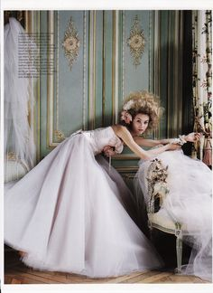 Ballerina dress by The Couture Gallery as featured in Brides Magazine 2009