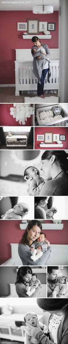 Raw Footage Photography - London Ontario Lifestyle Family and Wedding Photographer - Newborn Lifestyle Session