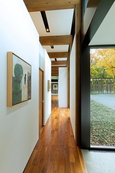 Image 28 of 39 from gallery of Woodland House / ALTUS Architecture + Design. Photograph by ALTUS Architecture + Design Modern Glass House, Glass House Design, Modern Houses, Minnesota Home, Minneapolis Minnesota, Woodland House, Metal Cladding, Commercial Architecture, Level Homes