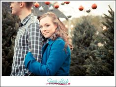 Event Stylist - Tammy Mills, Simply Grand Events Hair & Make Up - Best Face Forward - Skin, Hair and Make Up Artists Models - Amy and Robert, christmas engagement session, engagement photos, holiday portraits, Christmas love