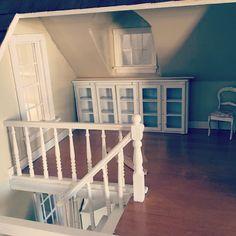Built ins? Craft room... #dollhouse #dollhouserenovation #art#miniatures #kimsaulter