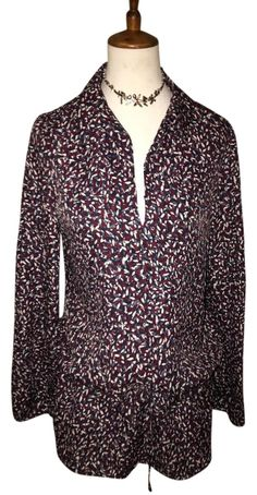 Tory Burch $75 ** Free Shipping ** New W/ Tags Size 6 Drop Waist Tunic Top. Free shipping and guaranteed authenticity on Tory Burch $75 ** Free Shipping ** New W/ Tags Size 6 Drop Waist Tunic TopA retro confetti print adds charm to this relaxed ...
