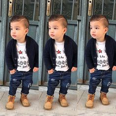 Toddler Boy Outfit Ideas Collection m o n i q u em ba boy outfits trendy ba boy Toddler Boy Outfit Ideas. Here is Toddler Boy Outfit Ideas Collection for you. Toddler Boy Outfit Ideas this looks like a ba josh boy outfits ba boy o. Toddler Boy Fashion, Cute Kids Fashion, Toddler Boy Outfits, Toddler Boys, Kids Outfits, Baby Kids, Cute Baby Boy, Baby Boy Swag, Toddler Boy Haircuts