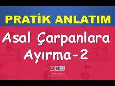 24) ASAL ÇARPANLARA AYIRMA Konu-Soru Çözümü-YKS(TYT)-KPSS-DGS-ALES-Matematik-Abdül Aziz Gürbüz - YouTube