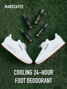 Keep your feet odor free and comfortable with only one daily application. Trusted by professional athletes and specifically designed for active lifestyles. Your feet will thank you! White Fashion Sneakers, Casual Sneakers, Guys Grooming, Beachwear Fashion, Platform High Heels, Mens Clothing Styles, Mens Suits, Black Men, Winter Fashion