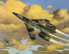 The Focke-Wulf Ta 283 was a German low-wing jet interceptor designed during World War II. The project was developed at the same time as the Focke-Wulf Super Lorin and remained unbuilt before the Surrender of Germany.