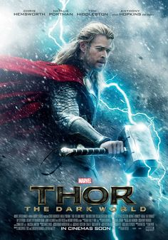 "Coming from USA Today, it's been revealed that the first poster for Thor: The Dark World was oddly taken from a set picture of Chris Hemsworth just looking awesome. From the article, Marvel president of production Kevin Feige explains:  ""It's rare that you have a poster that is just Chris Hemsworth shooting on the set,"" says Feige. ""But he just looks like Thor. We just put in some lightning, and he's got his hammer and you're there. It's just an incredibly striking image."" tor.com"