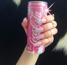 Find images and videos about pink, nails and drink on We Heart It - the app to get lost in what you love. Soft Ghetto, Luxury Beauty, Diy Makeup, Beautiful Tattoos, Nails Inspiration, Style Inspiration, Coke, Pretty Nails, Girly Things