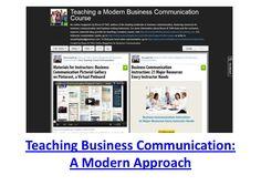 Teaching Business Communication:  Critical Topics, Popular Teaching...