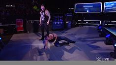 Baron Corbin has sent the Ambrose Asylum UP IN FLAMES, as he lays waste to Dean Ambrose on WWE SmackDown Live!