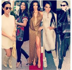 Kim Kardashian style....