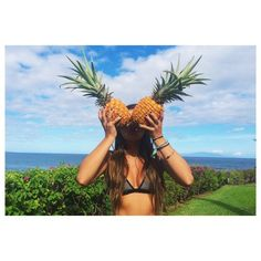 ananas, crazy, pineapple, summer, view