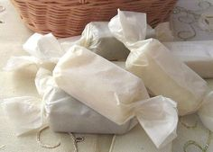 Vivian In Love - handmade soap wrapped to look like candy