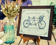Backyard style wedding from rusticweddingchic.com