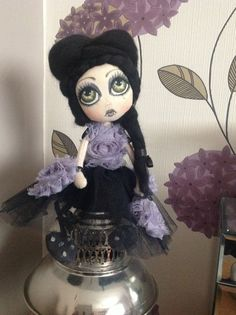 """Luna"" ooak doll by philamina minzy"