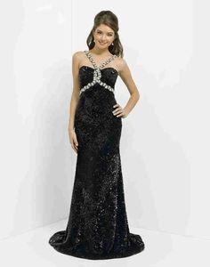 Black Prom Dress  - Wishesbridal.com