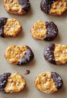 Chocolate Peanut Butter Pretzel Bite