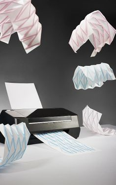 Hydro-Fold: A Printer That Spits Out Easy-To-Make Origami | Co.Design | business + design