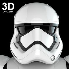 3D Printable Model of Stormtrooper First Order Costume from Star Wars VII: The Force Awakens Full Body Armor Suit | Print Ready File – Do3D.com