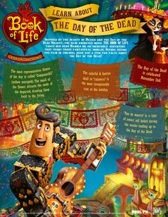 Learn About The Day of The Dead Printable for Kids